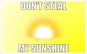 Sunshine too